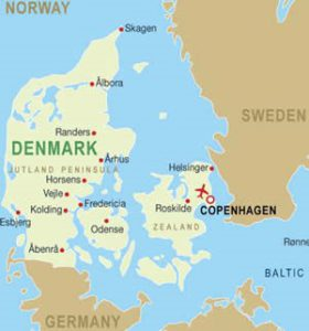 Dinamarca y el danés